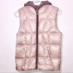 Eddie Bauer Blush Pink Puffer Vest
